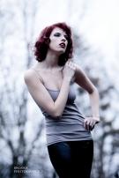 Liana, Hair and Makeup by Rachel Lynn Carr, Photographed by Mark Brosius
