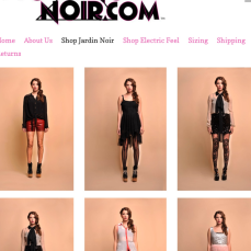 StockingNoir.com, Spring 2013